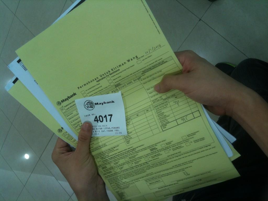 Bank Draft Forms