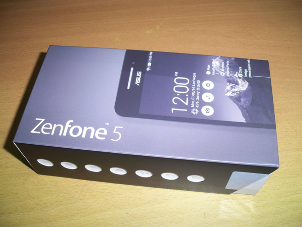 Zenfone 5 Package