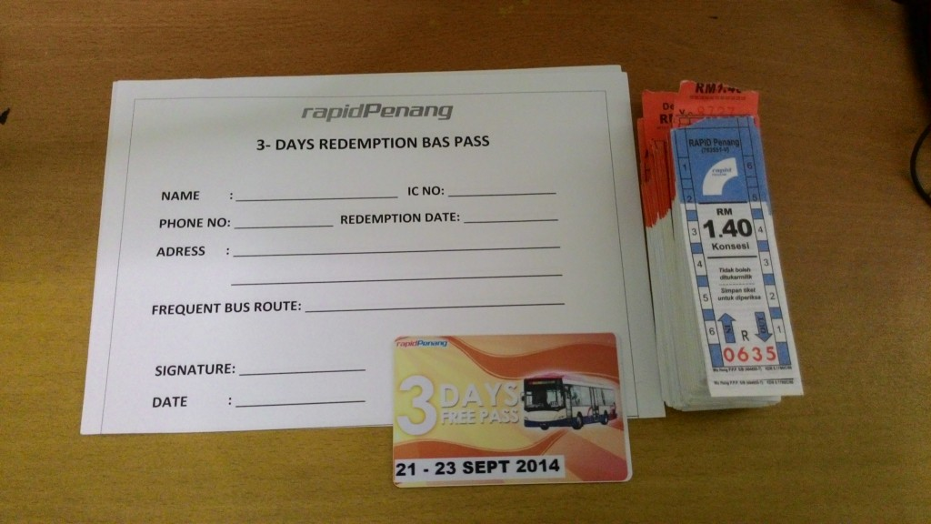 Rapid Penang 3-Day Bus Pass