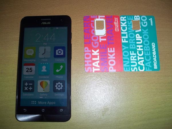 Zenfone 5 is ready for use