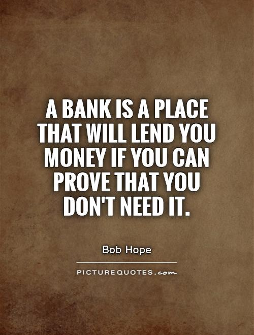 The truth of bank